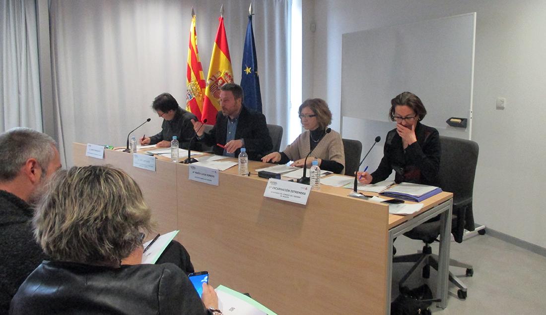 Reunión del Consejo de Turismo de Aragón (3 de Marzo 2017)