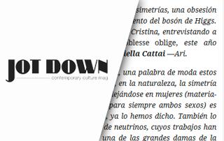 Jot Down - 10-11-2013
