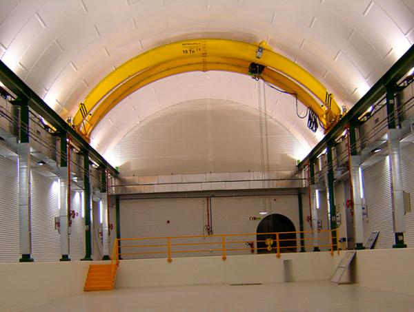 Interior Laboratorio Subterráneo de Canfranc