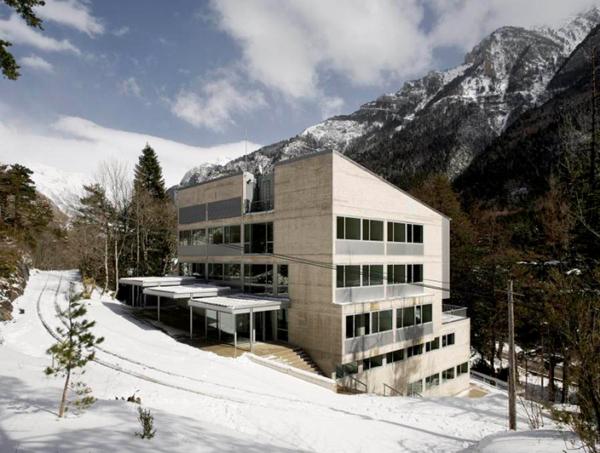 Sede del Laboratorio Subterráneo de Canfranc