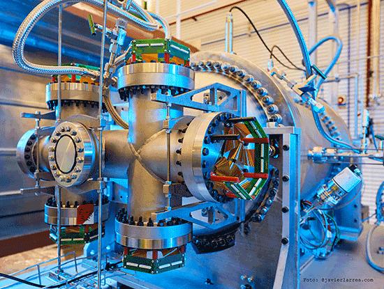 Instalaciones laboratio subterráneo Canfranc
